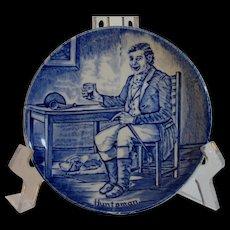 Enoch Wedgwood Huntsman Character Plate, Tunstall, Staffordshire