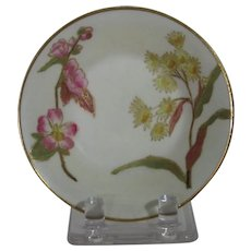 Royal Worcester Blush Ivory Pin or Ring Dish, Wildflowers