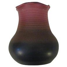 Dryden Pottery, 1995 Art Pottery Vase, Signed JK Dryden