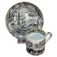 Copeland Spode's Italian Demitasse Set, Cup and Saucer