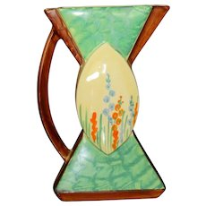 Myott Art Deco Hand Painted Bow Tie Jug