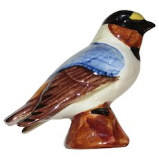 Stangl Pottery Hand Painted Cliff Swallow, Bird Figurine
