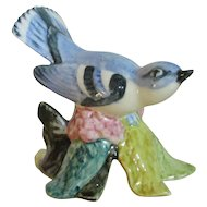Stangl Pottery Hand Painted Cerulean Warbler Bird Figurine