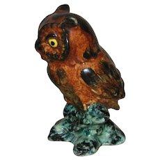 Stangl Pottery Owl Figurine, Bird Series