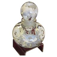 Art Glass Paperweight Style Perfume Bottle, St Clair Glass Company