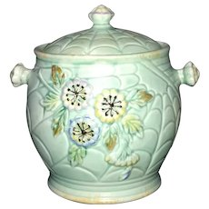 Vintage Staffordshire Biscuit Barrel
