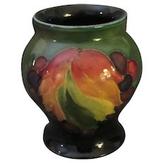 Early Moorcroft Vase, Berries and Autumnal Colors