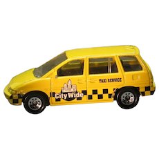Matchbox City Wide Taxi, Yellow