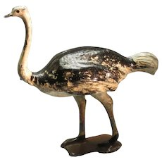 Britains Ltd Hollow Cast Ostrich, Pre WWII