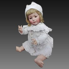 "Gorgeous Baby S & H Character, Around 1920, marked: ""1488 Simon & Halbig 12"". Height 56 cm"