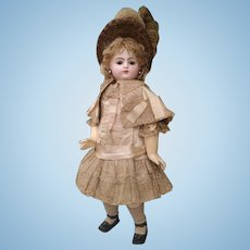 Beautiful  Antique  F. Gaultier , F.10.G.  Block Letter,  French Bebe Doll , 24 inches - All original in very mint conditions!