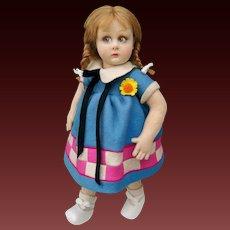 "Wonderful 13,5"" italian Lenci doll 450 series , 1931"