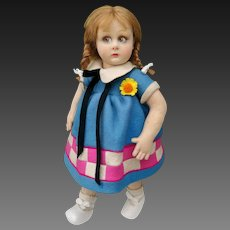 Wonderful italian Lenci doll series 450 , 13 inches about , ( 32 cm ).