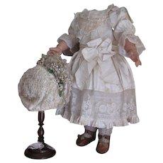 size 12  Bebe Jumeau Costume with Bonnet ~~