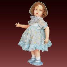 "22"" italian Lenci doll, 109 series, 1930"