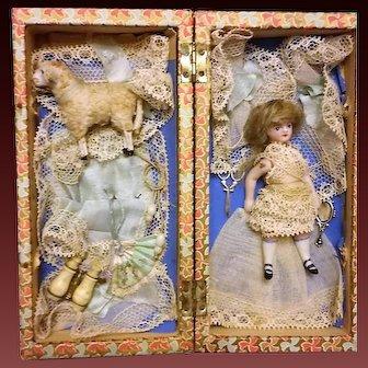 All original French Mignonette in presentation Box. France 1890s