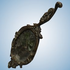 Antique Vanity Doll's Mirror