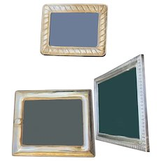 Beautiful Silver Frame Set Of Three