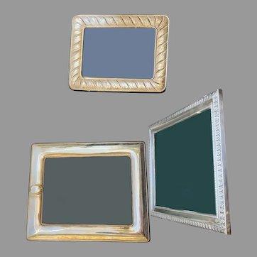 Beautiful Silver Frame Set Of Three