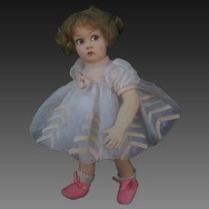 Wonderful italian Lenci doll series 450 , 13 inches about , ( 32 cm )