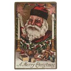"""""""Smiling Santa""""  (1910)"""