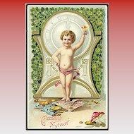 """Prosperous New Year!""  (1910')"