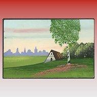 """""""Scenery"""" (1950')"""