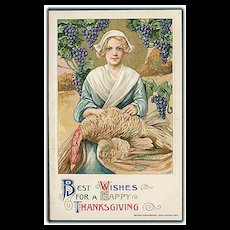 """Happy Thanksgiving""  (1911) - Red Tag Sale Item"