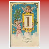 """""""A Happy New Year""""  (1908)"""