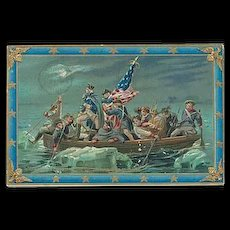 """Washington Crossing the Delaware""  (1911) - Red Tag Sale Item"