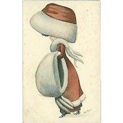 """""""Miss Santa""""  (1910)"""