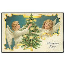 """""""Angels with Christmas Tree""""  (1915)"""