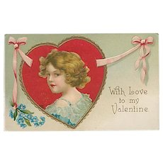 """Love to my Valentine""  (1910')"