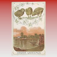 """""""Easter Greetings""""  (1910)"""