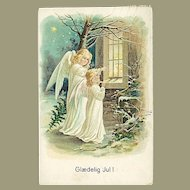 """""""Angels looking through the Window""""  (1918)"""