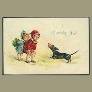 """""""Children with Dog (1922)"""