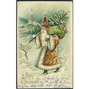 """""""Father Christmas in Brown""""  (1906)"""