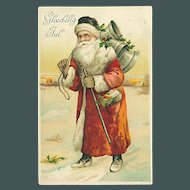 """""""Santa Claus in Red""""  (1928)"""