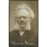 """""""Henrik Ibsen"""" (1910')"""