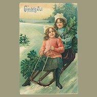 """Sledge Ride""  (1910)"
