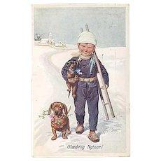 """Little Chimney Sweeper""  (1910)"
