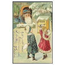 """Letters to Santa Claus""  (1909)"