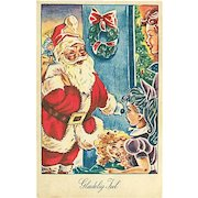 """Welcome Santa""  (1956)"