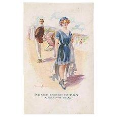 """""""On the Beach""""  (1912)"""