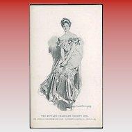 """""""The Howard Chandler Christy Girl""""  (1901)"""