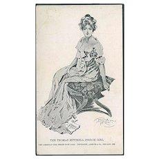 """""""The Thomas Mitchell Pierce Girl""""  (1902)"""