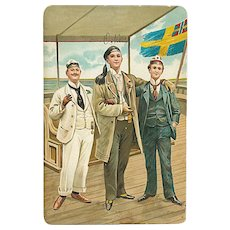 """Scandinavian Students""  (1913)"