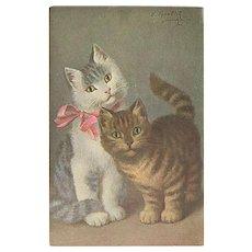 """""""Two cute Kittens""""  (1934)"""
