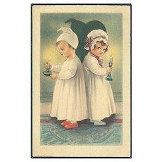 """""""Children in Nightclothes""""  (1924)"""