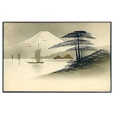 """Japanese Scenery""  (1920') - Red Tag Sale Item"